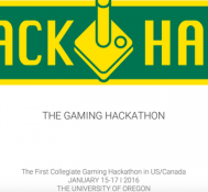 QuackHack: The Gaming Hackathon