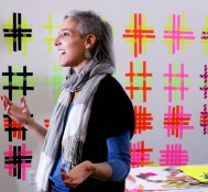 """Marianne Fairbanks: """"Impractical Weaving Suggestions""""- Department of Art Visiting Artist Lecture Series"""