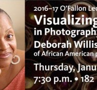 "Deborah Willis, ""Visualizing the Black Body in Photography and Popular Culture"""