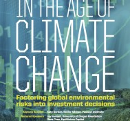 Investing in the Age of Climate Change-Managing Climate Risk