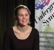 2017 Undergraduate Symposium-student interviews: Allison Dona