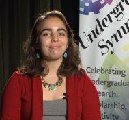 2017 Undergraduate Symposium-student interviews: Angela Rothman
