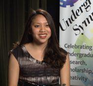2017 Undergraduate Symposium-student interviews: Jacqeline Ignacio