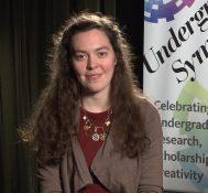 2017 Undergraduate Symposium-student interviews: Katie Williams