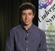 2017 Undergraduate Symposium-student interviews: Nelson Perez