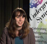 2017 Undergraduate Symposium-student interviews: Nora Sawyer