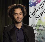 2017 Undergraduate Symposium-student interviews: Pedram Diba