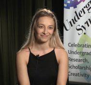 2017 Undergraduate Symposium-student interviews: Renne Dobre