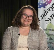 2017 Undergraduate Symposium-student interviews: Samantha Bryan
