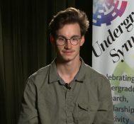 2017 Undergraduate Symposium-student interviews: Willem Griffiths