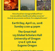Oregon On Fire: Fire Ecology and Forest Policy