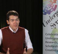 2018 Undergraduate Symposium-student interviews: Alex Miller