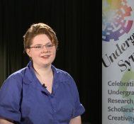 2018 Undergraduate Symposium-student interviews: Caroline Shea