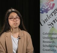 2018 Undergraduate Symposium-student interviews: Chia-Ni Shen