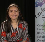 2018 Undergraduate Symposium-student interviews: Corinne Togiai