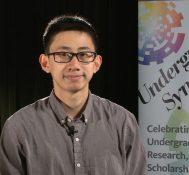 2018 Undergraduate Symposium-student interviews: Haozhe Li
