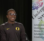2018 Undergraduate Symposium-student interviews: Jason John