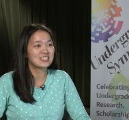 2019 Undergraduate Symposium-student interviews: Emily Ma