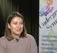 2019 Undergraduate Symposium-student interviews: Gabriella Farland