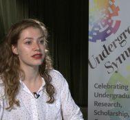 2019 Undergraduate Symposium-student interviews: Isabelle Cullen