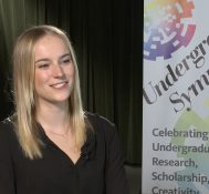 2019 Undergraduate Symposium-student interviews: Jillian Niedermeyer