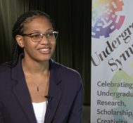 2019 Undergraduate Symposium-student interviews: Joan Hicks