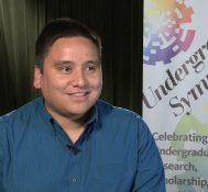 2019 Undergraduate Symposium-student interviews: John Francis