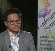 2019 Undergraduate Symposium-student interviews: Joshua Mostales