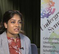 2019 Undergraduate Symposium-student interviews: Karishma Shah