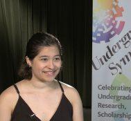 2019 Undergraduate Symposium-student interviews: Malyssa Robles