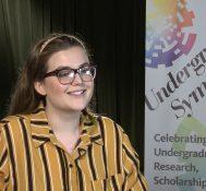 2019 Undergraduate Symposium-student interviews: Megan Olivera