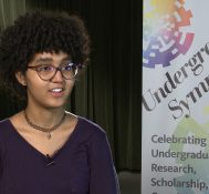 2019 Undergraduate Symposium-student interviews: Sara Bapatista