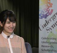 2019 Undergraduate Symposium-student interviews: Takako Iwashita