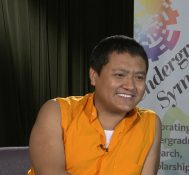 2019 Undergraduate Symposium-student interviews: Tulku Sangye Tenzin